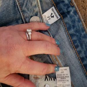 "True Religion Jeans - ""Karlie"" True Religion destroyed bell bottoms"